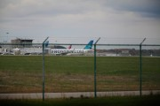 US Airlines: a Frontier Airlines plane