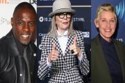 Idris Elba, Diane Keaton and Ellen DeGeneres