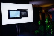 Attendees watch a presentation of Google's Project Tango