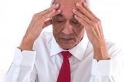Concern Senior Man