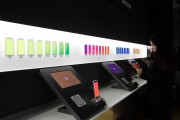 Product Displays Inside A Samsung Electronics Co. Store