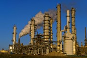 Views Of Refineries As Oil Trades Near 12-Year Low