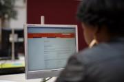 Jobseekers Inside A Dutch Job Center As Government Forecast Unemployment Decline