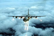 Air Force Special Forces AC-130 Gunship Used in Air Strikes