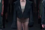 Kylie Jenner at the Adidas Originals x Kanye West runway