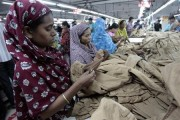 Women work at a garment factory in Savar July 27, 2012. Credit: Reuters/Andrew Biraj