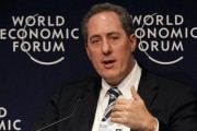Michael Froman attends a session at the World Economic Forum (WEF) in Davos January 28, 2010. Credit: Reuters/Arnd Wiegmann