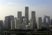 Buildings are seen in Beijing's central business district, July 11, 2013. Credit: Reuters/Jason Lee