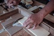 Carpenter Making  Sustainable Ebony Radios
