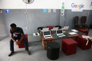Google Sponsors Art Installation