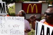 McDonald's Workers On Strike