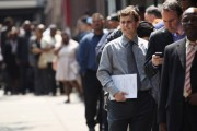 Job Fair Held In Midtown Manhattan