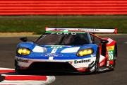 The Chip Ganassi Ford GT in a fast race at the FIA World Endurance Championship