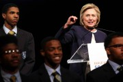 Hillary Clinton Delivers Keynote Address At Eagle Academy Fundraiser In NYC