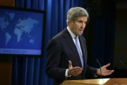 Secretary Of State John Kerry Speaks On World Press Freedom Day