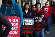 Verizon Workers Walk Off Jobs And Strike