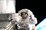 Space Shuttle Discovery Continues Mission