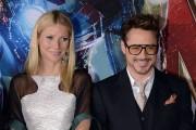 Iron Man stars Gwyneth Paltrow and Robert Downey Jr.