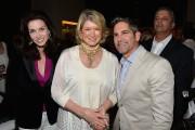 Alaina Cardone, Martha Stewart and Grant Cardone