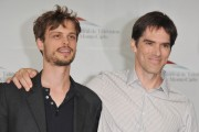 Matthew Gray Gubler and Thomas Gibson (R) attend 'Criminal Minds' photocall during the 51st Monte Carlo TV Festival at the Grimaldi forum on June 8, 2011 in Monaco, Monaco.