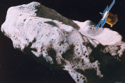Artist's concept of Near Earth asteroid