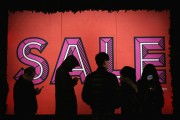 Shoppers Hit The Sales