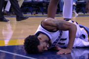 Mike Conley Fractured Vertebrae Injury | November 28, 2016 | 2016-17 NBA Season