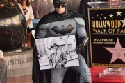Bob Kane Honored With Star On The Hollywood Walk Of Fame
