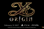 Ys Origin - PlayStation Experience 2016: Announcement trailer PS4, PS Vita