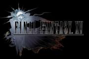 The 'Final Fantasy XV' intro shot