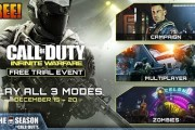 Call of Duty: Infinite Warfare FREE TRIAL Week - Multiplayer, Zombies, & Campaign! - Starting 12/15