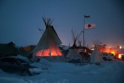 Dakota Pipeline Access Project Protesters Brave Frigid Weather To Continue Encampment