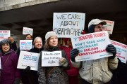 Constituents Rally Outside Senator Pat Toomey's Office, Demanding 'Don't Take Away My Health Care' To GOP