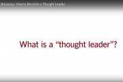 Denise Brosseau: How to Become a Thought Leader
