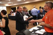 Job Seekers Look Employment At Career Fair In Hartford, Connecticut