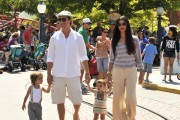 Matthew McConaughey And Family Visit Disneyland