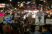 Protestors In Seattle Rally Against Trump's Muslim Immigration Ban