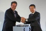 General Motors and Honda enter into a joint venture