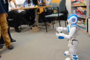 Robot teaching communication