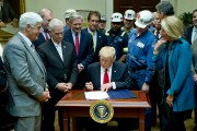 Donald Trump Sign Bill Eliminating Regulations On The Mining Industry