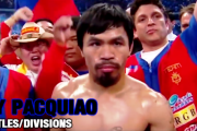 Manny Pacquiao | ALL 8 TITLE FIGHTS | 8 DIVISIONS | Highlights