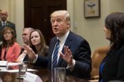 President Trump Holds Meeting On Healthcare