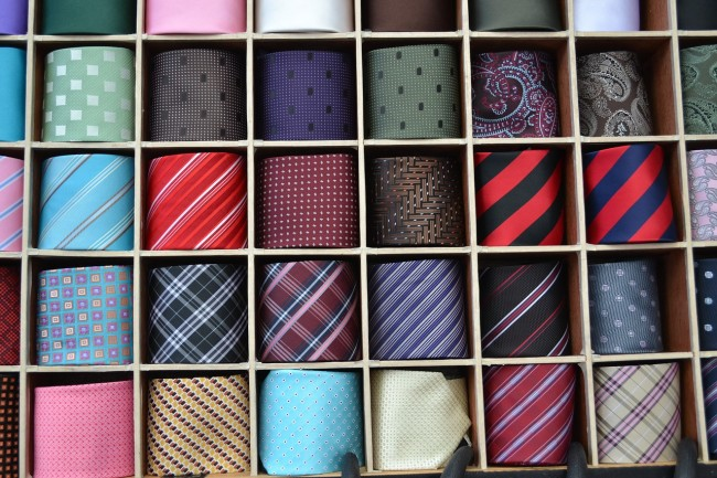 The Most Common Tie Colors