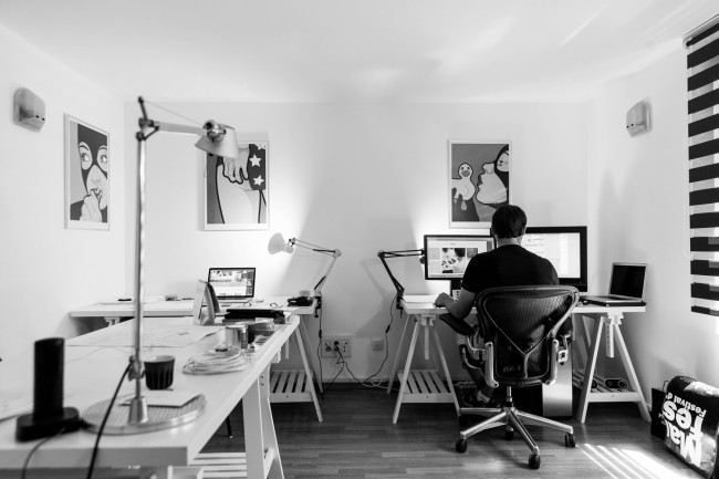 Create a Home Office to Get Work Done With These 5 Tips!