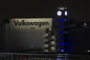 A general view of the Volkswagen plant in Chattanooga,Tennessee February 14, 2014.